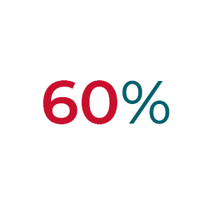 60% Minority Population