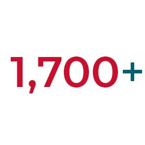 1,700+ Student Population