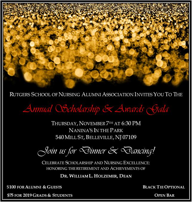 2019 RUNursing Gala Invite