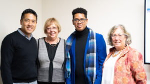 Scholar from Botswana visits Rutgers School of Nursing in Newark.