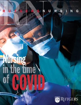 Magazine Cover: Nursing in the Time of COVID