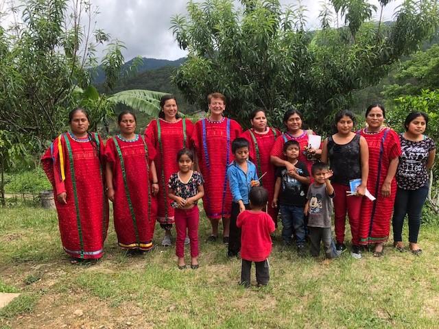 Triqui Women with Dr. D'Alonzo